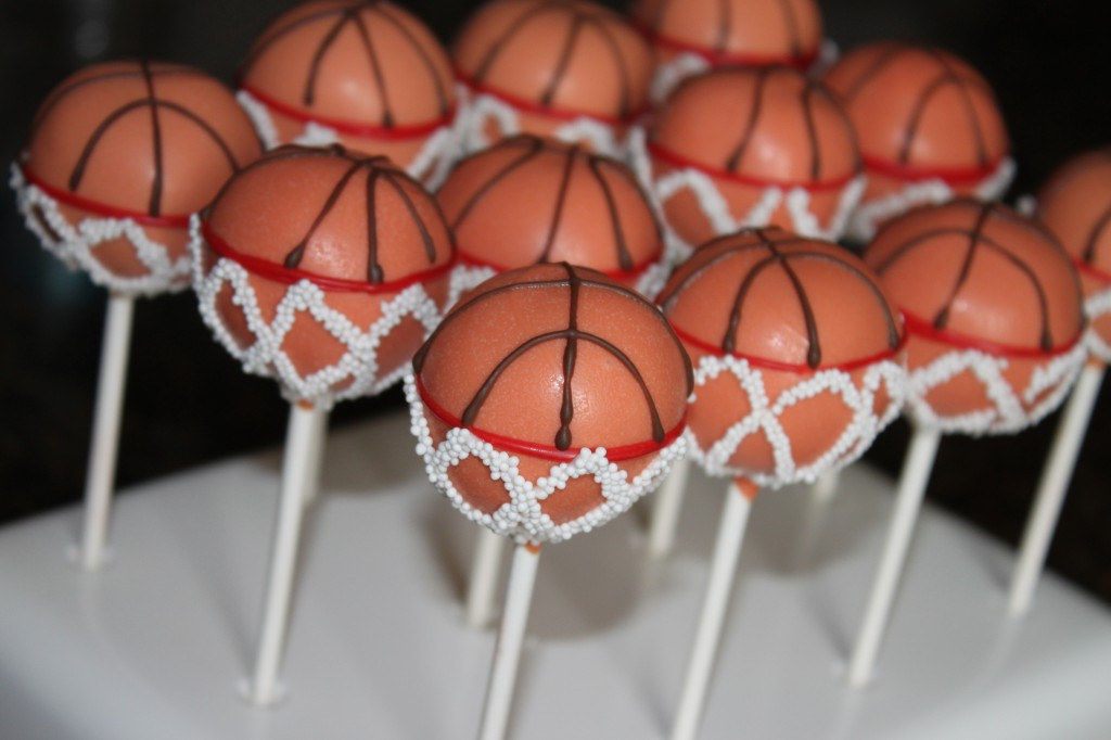 Heavenly Cake Pops Basketball Cake Pops