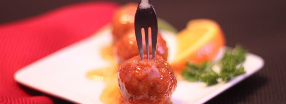 Orange Glazed Turkey Meatballs Heavenly Cake Pops Easy Roller Recipe