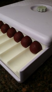 Red Velvet cake balls Easy Roller