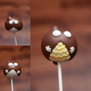Owl Graduation Cake Pop By HCP Easy Roller 3