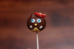 Owl Graduation Cake Pop By HCP Easy Roller 5