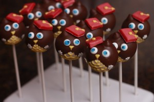 Owl Graduation Cake Pop By HCP Easy Roller 6