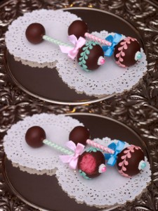 Gender Reveal Cake Pops HCP Easy Roller