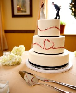 baseball cake from Pinterest
