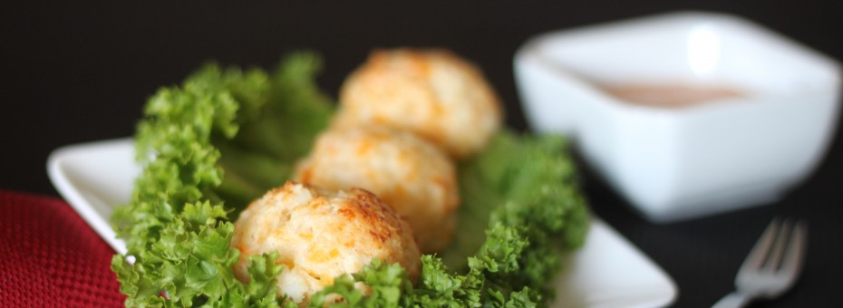 Crab and Shrimp Meatball Heavenly Cake Pops Easy Roller Recipe