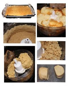 Cake Pop Dough Made by Food Processor