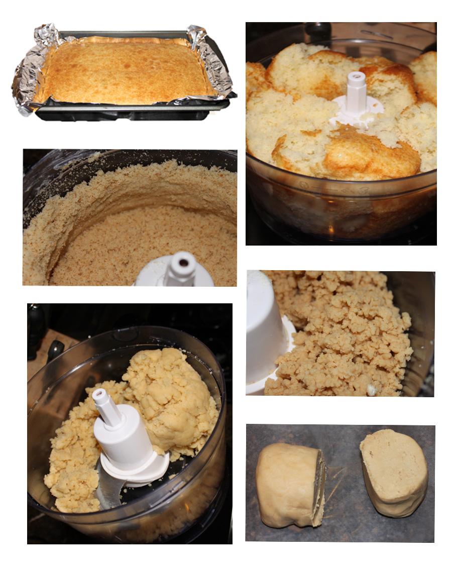 How to make cake pop dough with the food processor