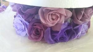 Heavenly Cake Pops Tall Wedding Cake Roses 6