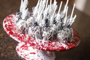 Spider Web Cake Pops by HCP Easy Roller