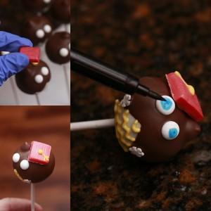 Owl Graduation Cake Pop By HCP Easy Roller 4