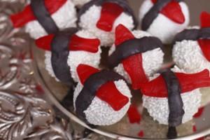 Sushi Cake balls