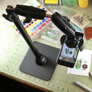 live-streaming-iphone-crafting-stamping-cooking-desk-stand-mount-hd8rv29-3