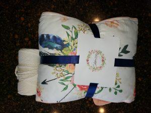 Nursery bedding and Natural Ganxxt cord